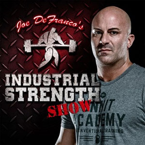 Joe DeFranco's Industrial Strength Show hits #1 on iTunes!