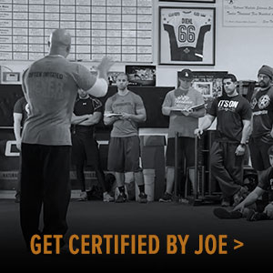 Get Certified by Joe