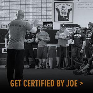 Get Certified by Joe
