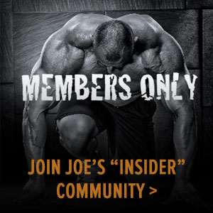 Join Joe's Insider Community