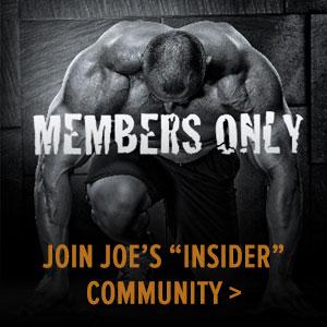 Join Joe's Insider Community