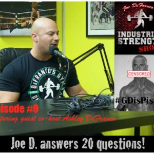 Joe D. Answers 20 Questions!