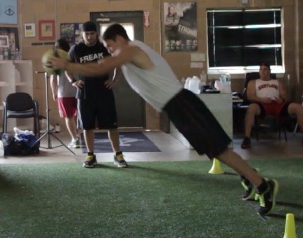 Hogan med ball full extension