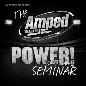 AMPED/POWER! Seminar @ DeFranco's… and a BADASS video!