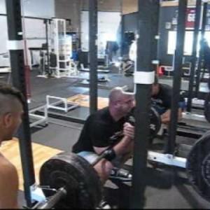 DeFranco's training montage