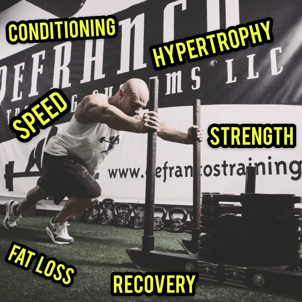 Sled/Prowler Training Guidelines for EVERY Goal! - Official Website
