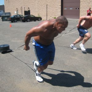 How To Create Savage Athletes With Only A Rack & Sled
