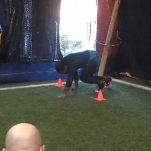 How to Run a 4.2-second 40 Yard Dash!
