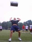 Keg or Medicine ball toss